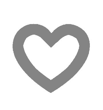 Preheat oven to 200°C. Print and cut out this heart outline if you don't